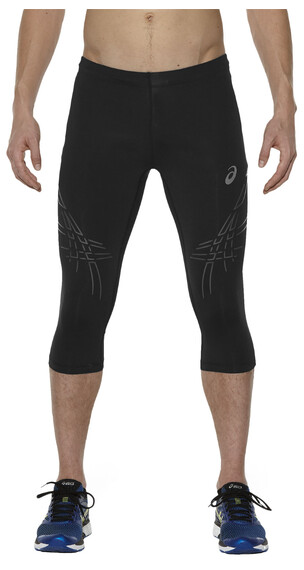 asics Stripe Knee Tight Men Balance Black